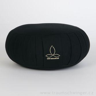 Jóga polštář Zafu – černá