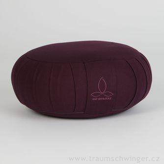 Jóga polštář Zafu – fialová
