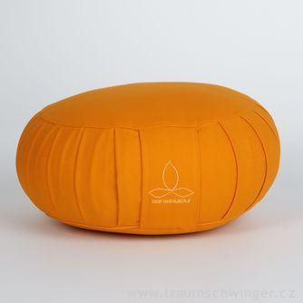 Jóga polštář Zafu – žlutá