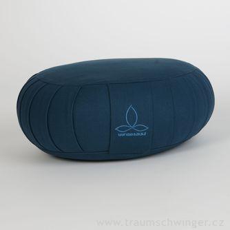 Jóga polštář Zafu – modrá