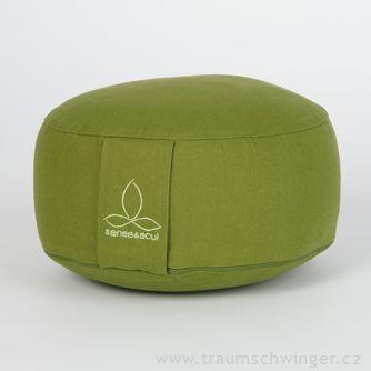 Jóga polštář Rondo malý – zelená