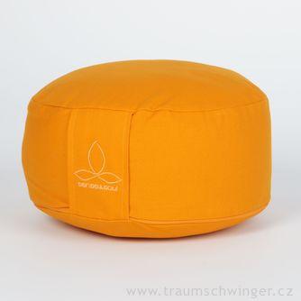 Jóga polštář Rondo malý – žlutá