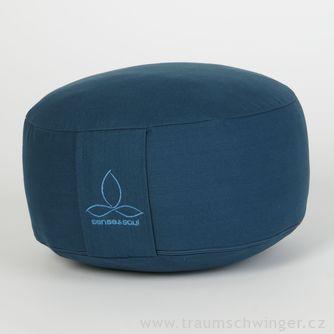 Jóga polštář Rondo malý – modrá