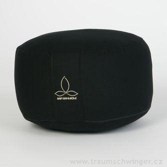 Jóga polštář Rondo velký – černá