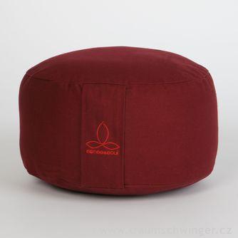 Jóga polštář Rondo velký – červená