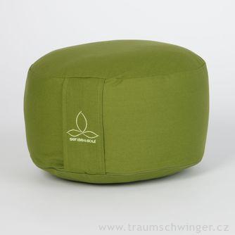 Jóga polštář Rondo velký – zelená