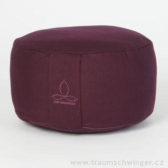 Jóga polštář Rondo velký – fialová