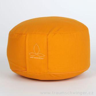 Jóga polštář Rondo velký – žlutá