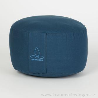 Jóga polštář Rondo velký – modrá
