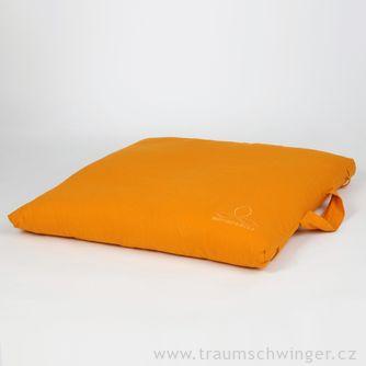 Meditační podložka afuton vjednom Zafuton – žlutá